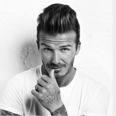 david beckham quiff hair for men