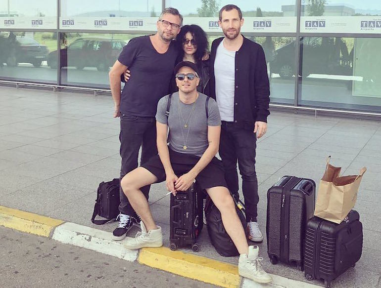 davide squillace mathias tanzmann martin buttrich nicole moudaber all travelling