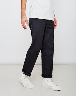 dickies black slim fit chinos for men