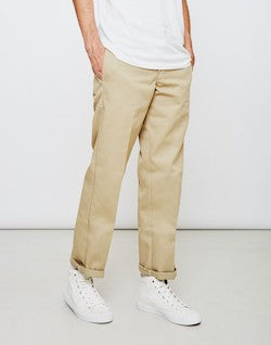dickies slim fit chinos sand for men
