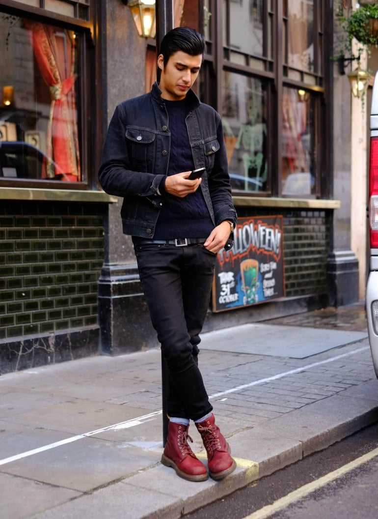 c1e1be52087 ... dr-mafrtens-boots-jeans-street-style-jacket