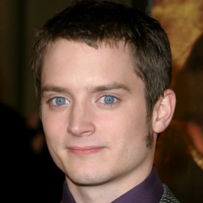 elijah wood long sideburns mens