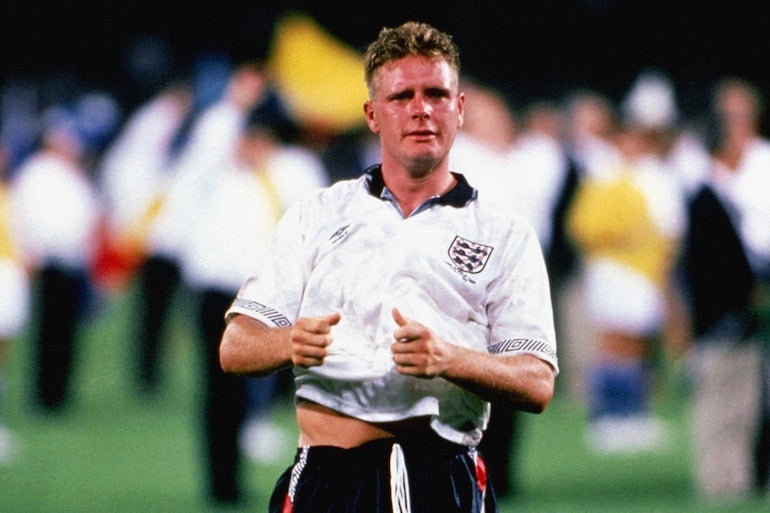 paul gascoine england 1990 kit football