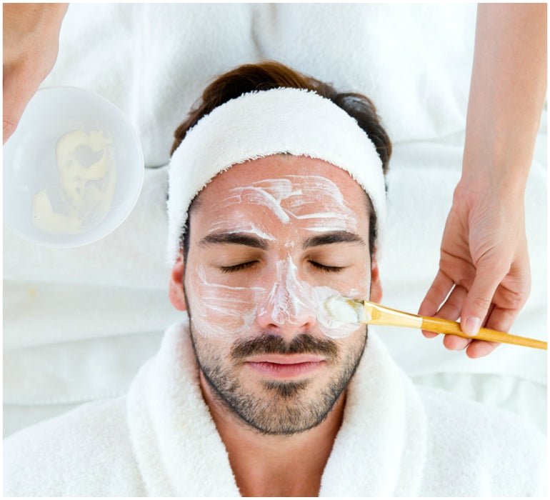 face mask male grooming
