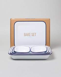 Falcon Enamelware bake set men