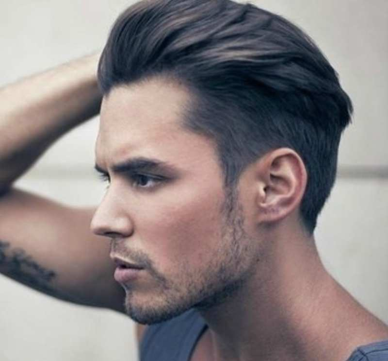 faux hawk mens haircut