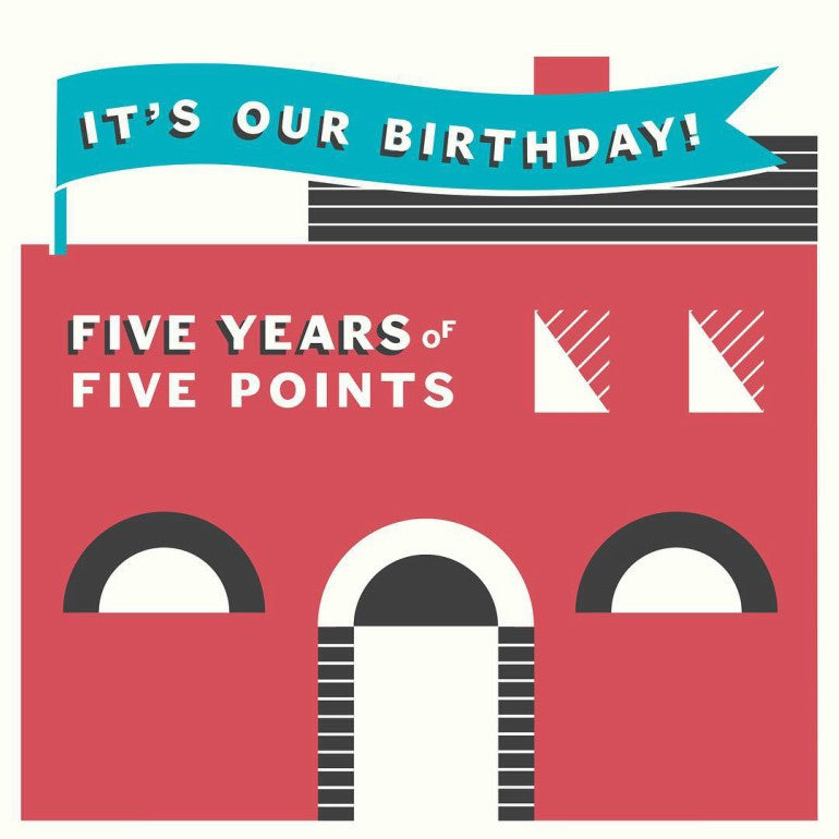 five points brewing co birthday