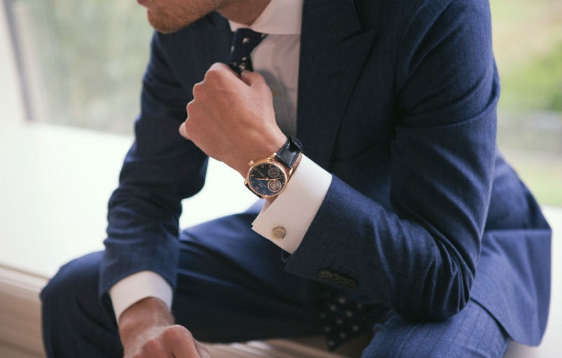 french cuffs mens style
