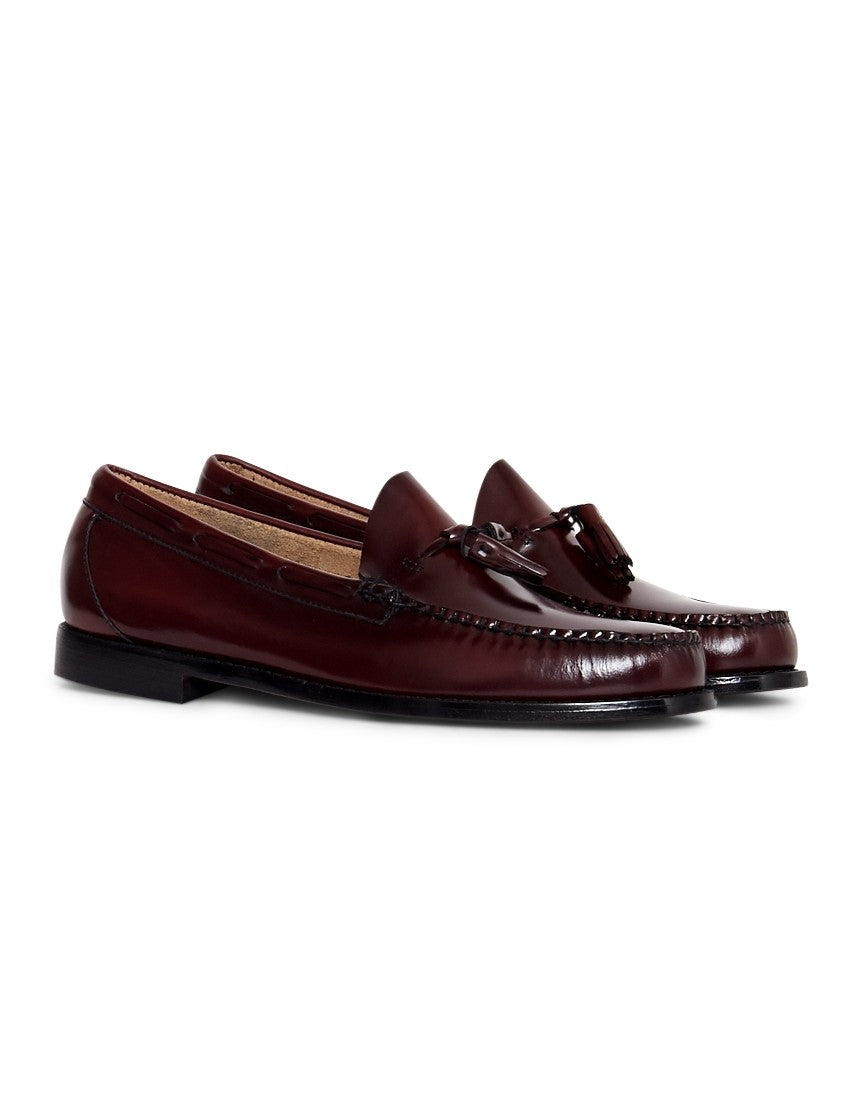 G.H. BASS & CO. Mens Weejuns Tassle Loafers Burgundy