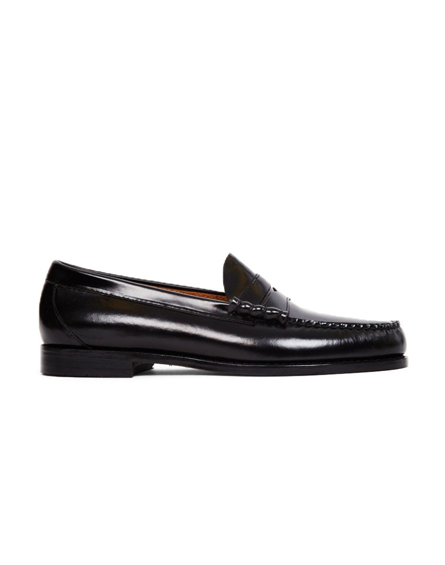 g h bass co mens weejuns classic penny loafer black mens
