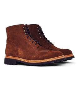 grenson mens grover boot brown