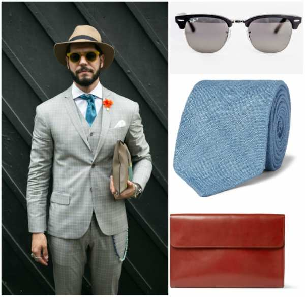 grey suit outfit grid