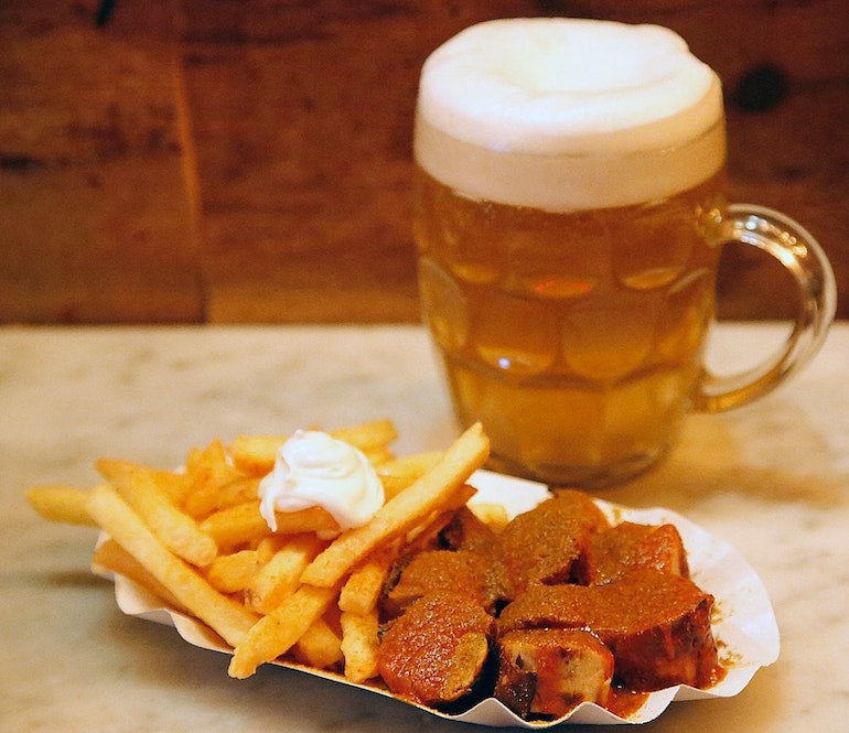 herman ze german currywurst and beer-min