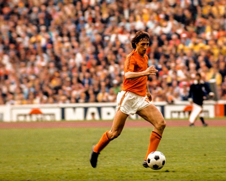 holland 1978 home kit football