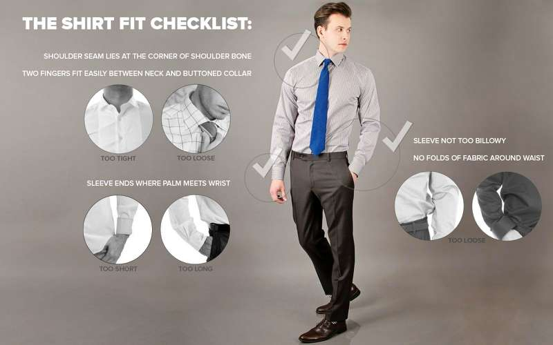 how an oxford shirt should fit