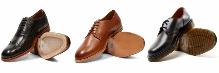 how to clean leather shoes formal