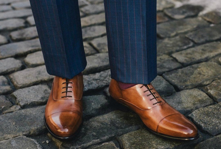 8f7170ea1406 how to lace dress shoes for men