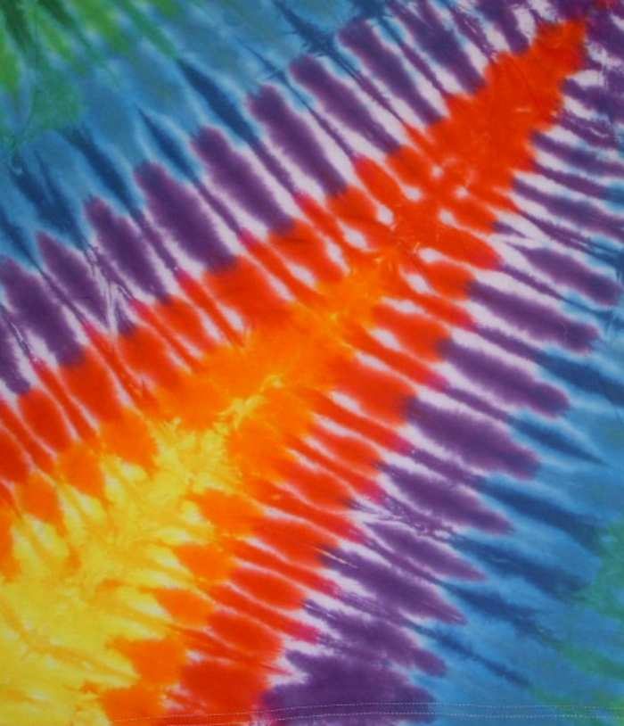 how to tie dye at home lightning bolt