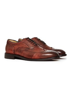 hudson heyford calf brown formal shoes mens