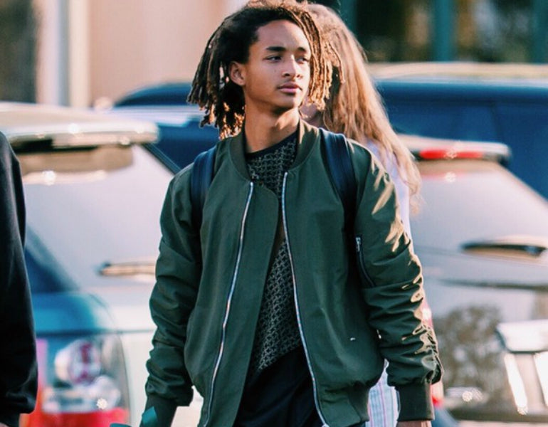 jaden smith bomber jacket