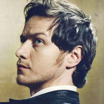 james mcavoy long sideburns mens