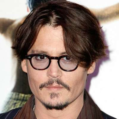 johnny depp mens curtains haircut
