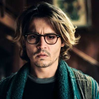 johnny depp mens curtains hairstyle