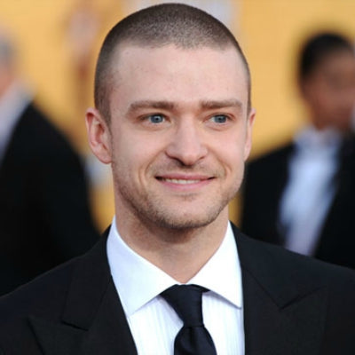 justin timberlake shaved head