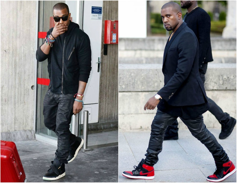kanye west trainers look
