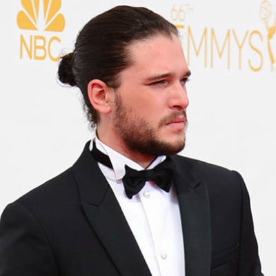 kit harington man bun for men