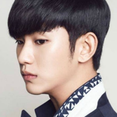 korean blunt fringe men