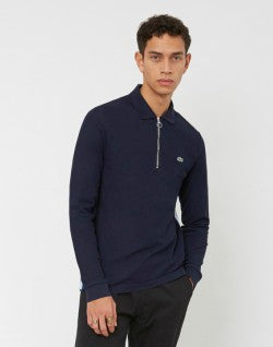 lacoste_long_sleeve_taped_sides_polo_shirt_navy_1
