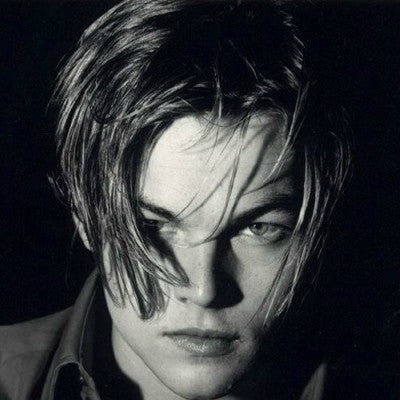 leonardo di caprio medium hairstyle for men