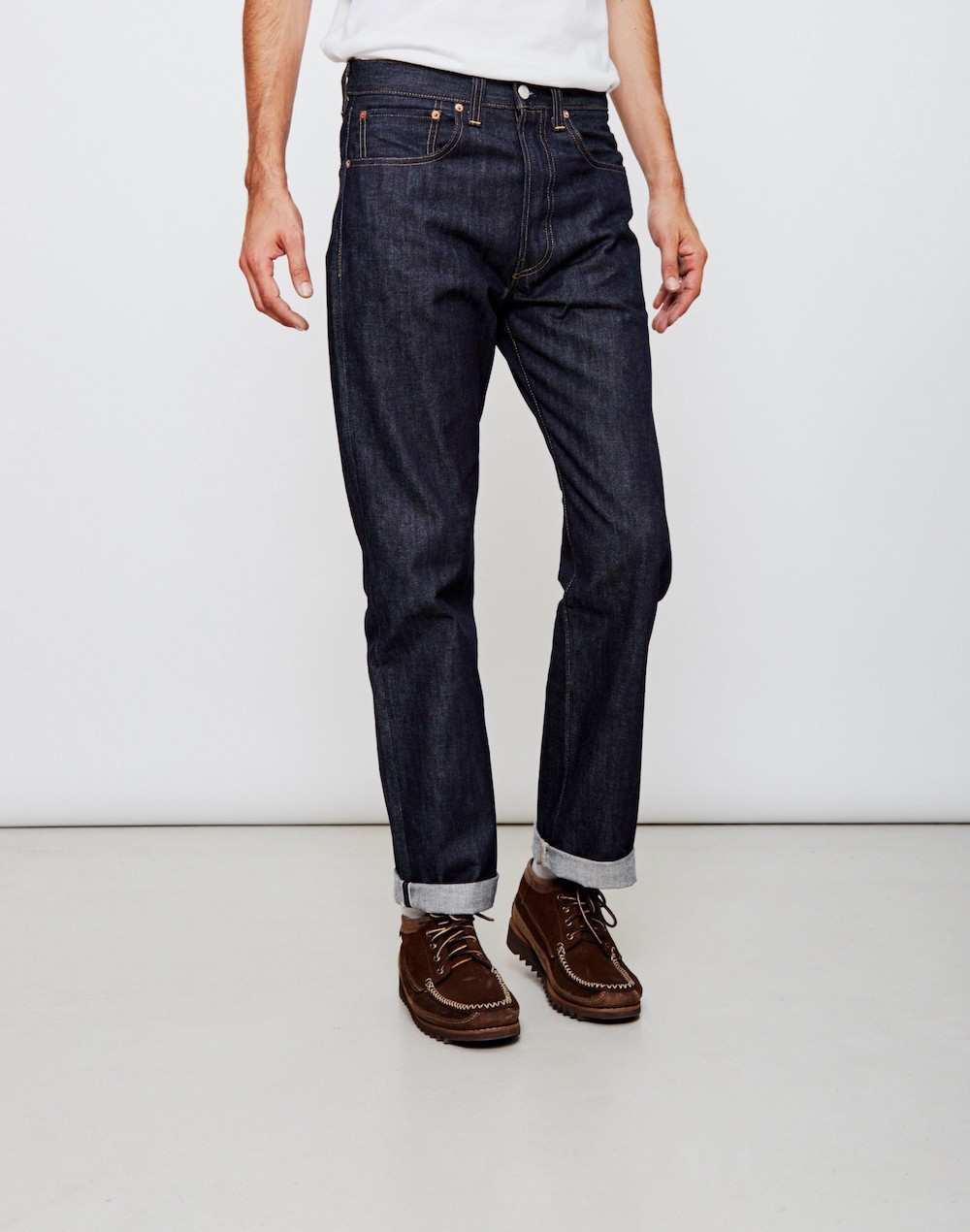 levis navy denim men