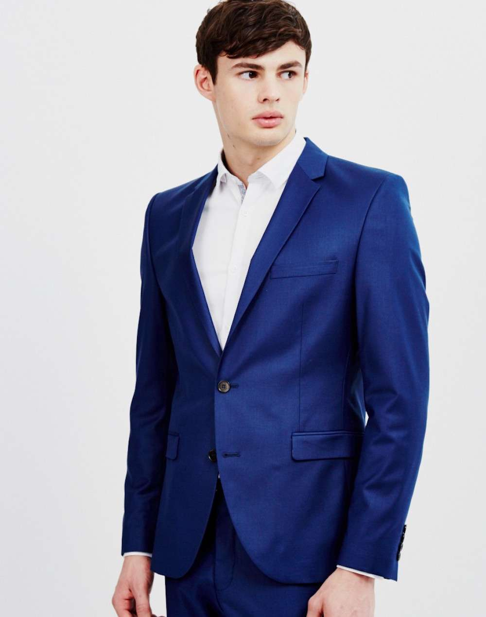 selected mylo blue blazer men