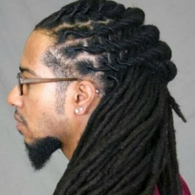 long mens cornrow braids dreads