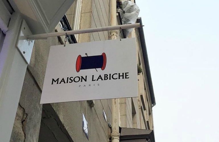 maison labiche paris sign