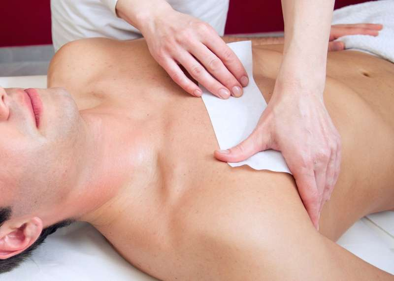 male hair removal male waxing
