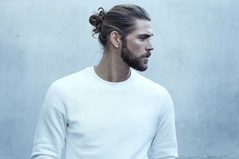 man bun causes hair loss