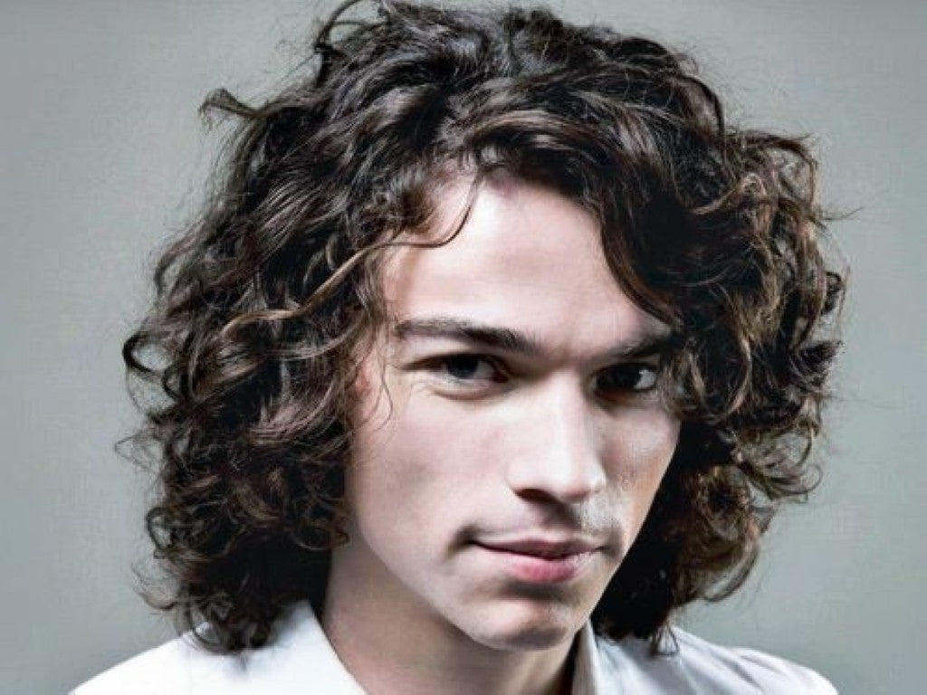 man curly hair mens style