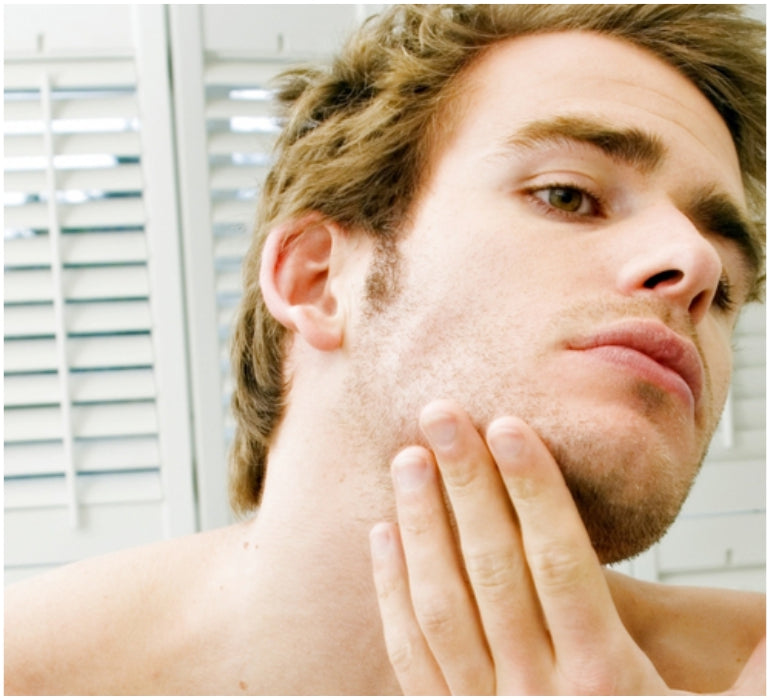man grooming lifestyle clear skin