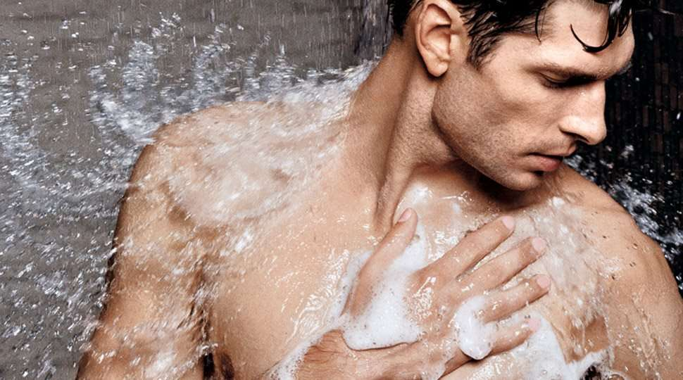 man shower how to wax for men