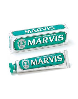 marvis classic strong mint 75ml toothpaste
