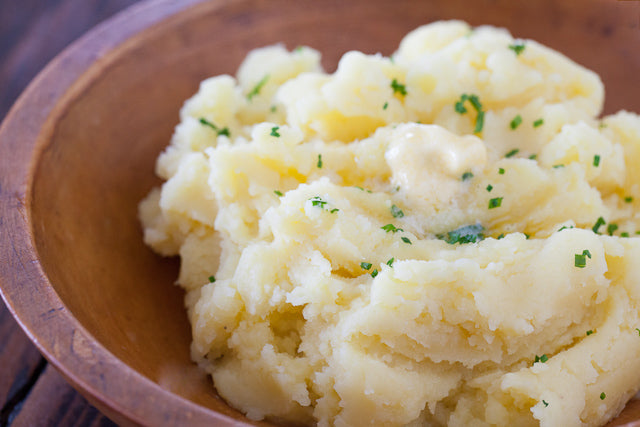mashed potatoes ready to eat