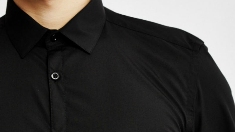 black mens shirt the idle man