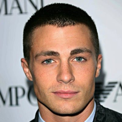 mens burr cut colton haynes how to get a buzz cut
