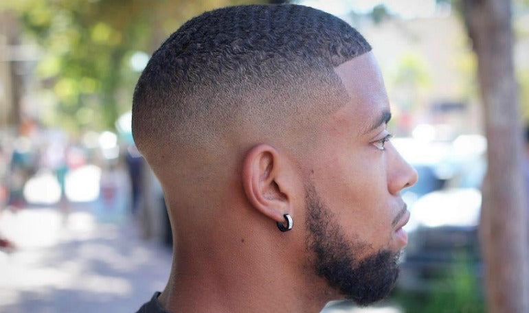 mens buzz cut tapered