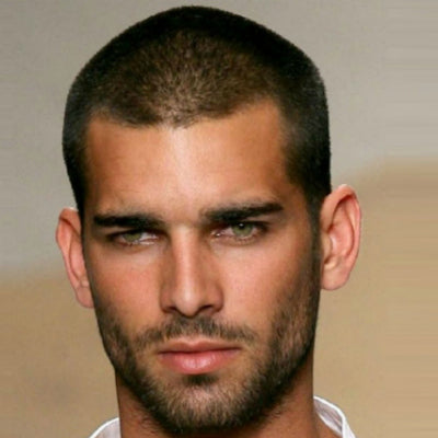 mens buzz cut