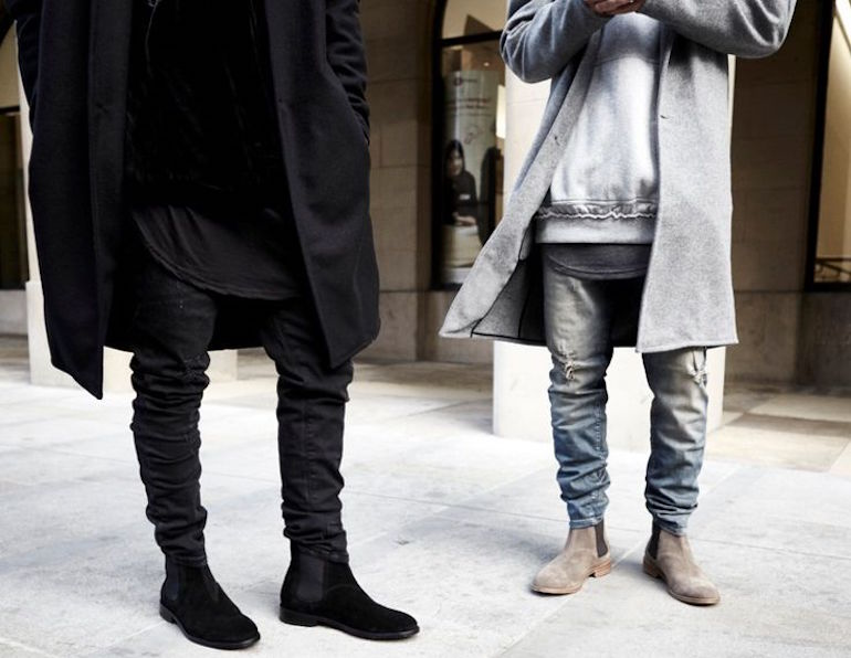 mens chelsea boots street style