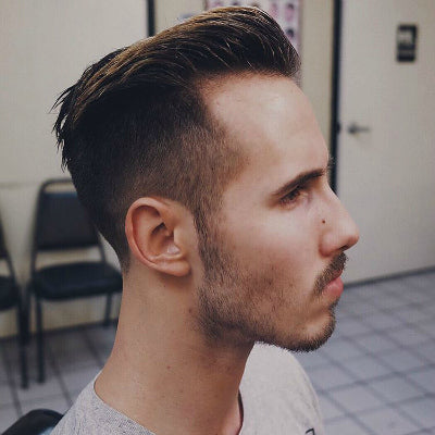 mens classic taper cut hairstyle